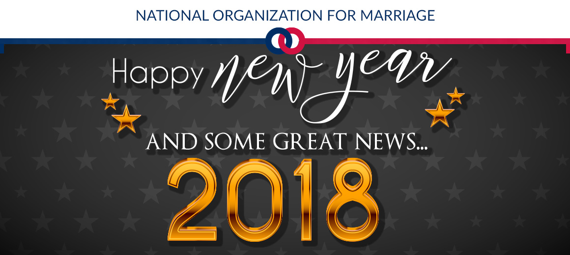 dear marriage supporter i want to wish you and yours a happy and safe new years please accept my prayers and good wishes that 2018 will be a terrific
